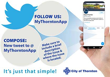 Download the My Thornton App