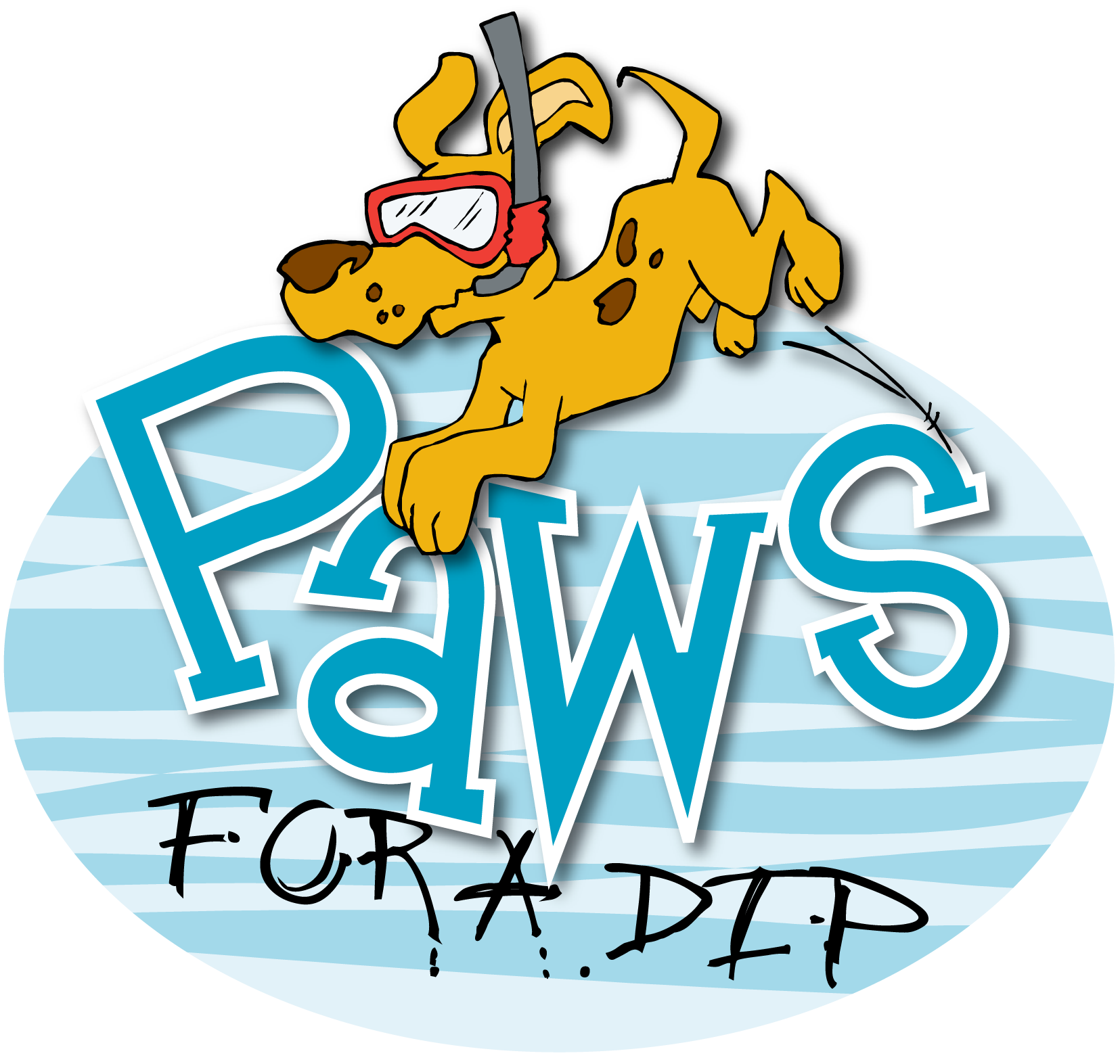 Paws for a Dip logo