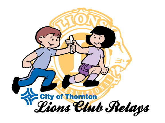 Lions Club Relays logo
