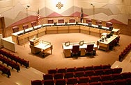 Thornton council chambers