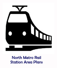 North Metro Rail Station Area Plans