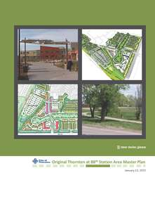 Original Thornton at 88th Station Area Master Plan Cover
