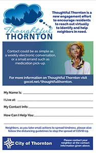Thoughtful Thornton Flyer