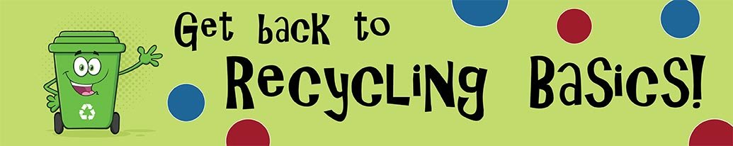 recycling cartoon graphic