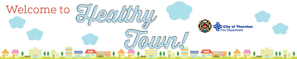 Welcome to Healthy Town Graphic